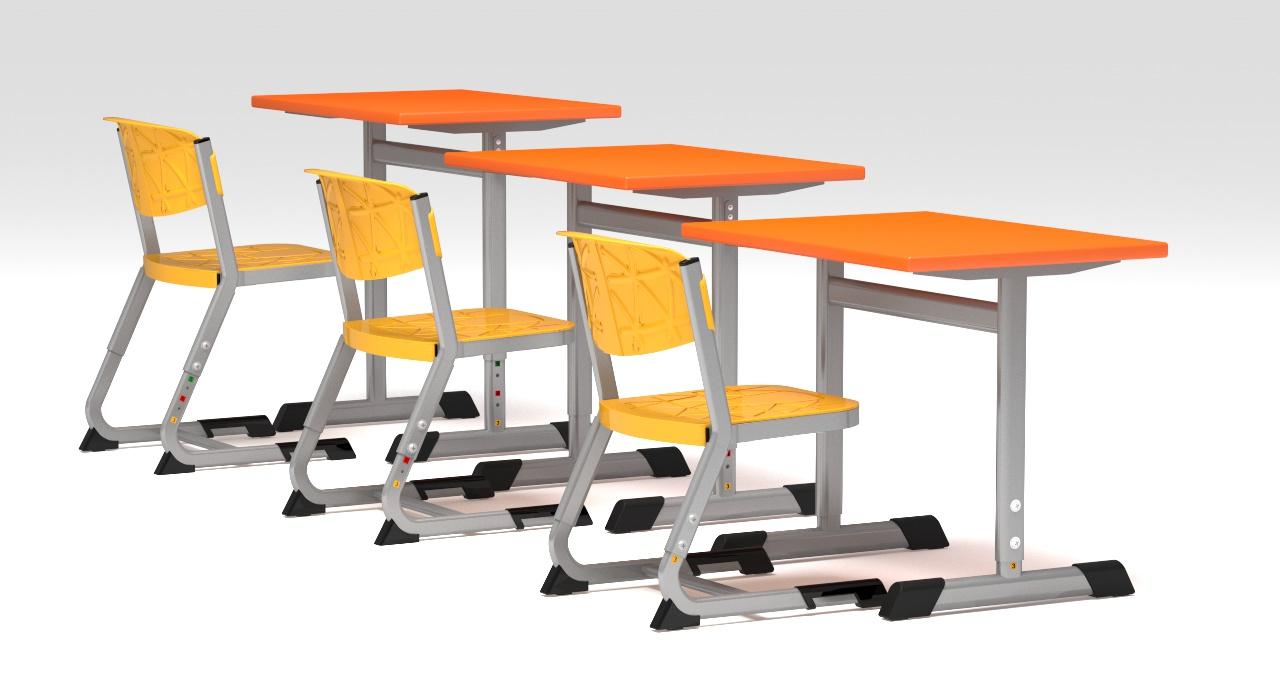 Iskola bútor tanulói asztalok